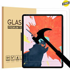 """2 Pack Tempered Screen Protector For Apple iPad Pro 9.7/10.2/10.5/11/12.9"""" INCH"""