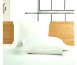 Serta Side-Sleeper White Goose Feather & Down Fiber Pillow King Down