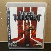 PS3 Unreal Tournament III (Sony PlayStation 3, 2007) Complete & Tested