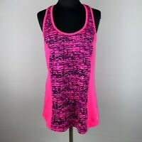 C9 By Champion DuoDry+ Womens L Patterned Front Activewear Tank Top Sleeveless