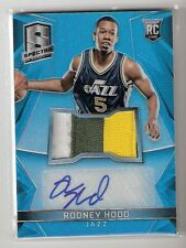 Rodney Hood 14/15 Spectra Patch Auto RC Rookie #113 Serial #32/99