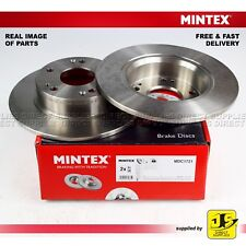 2X MINTEX REAR DISC BRAKES MDC1721 HONDA ACCORD VII CL,CN CM TOURER 2.0 2.2 2.4