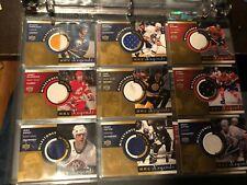 2001-02 UD NHL Legends Milestones Complete Jersey Set GRETZKY YZERMAN ++
