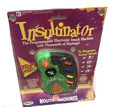 INSULTINATOR Programmable Insult Machine SRM Toy Electronic 1995 NIB Vintage