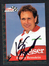 Kenny Bernstein #10 signed autograph auto 1993 Finish Line NHRA Trading Card