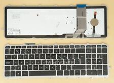 for HP 15-j054ca 15-j058ca 15-j073ca 15-j078ca Keyboard Backlit Canadian Clavier