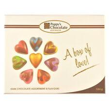 A Box of Love! Dark Chocolate heart gift box