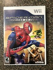 1Spider-Man Friend or Foe (Nintendo Wii) Complete w/ Manual - Tested Working