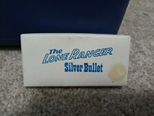 Vintage New Old Stock The Lone Ranger Silver Bullet Keychain Palladium Presents