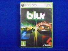 xbox 360 BLUR Powered-Up Racing Game Microsoft REGION FREE Pal English