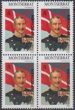 Specimen, Montserrat Sc951 Block, 20th Century Royalty, Christian X (1870-1947)