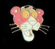 Vintage Enamel Pin 70's 80's Retro The Pink Panther jacket vest hat lapel