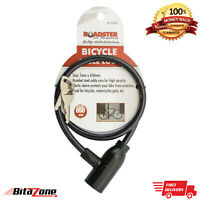 7mm x 65cm Bicycle Bike Cable Lock - 2 Keys Cycle Safety and Security Cable Lock