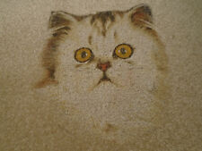 CAT BREED- orange face carpet door mat