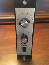 Vintage Gotham Audio Lexicon Delta-T Model 101 Audio Time Delay Module RARE NR