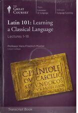 Latin 101 : Learning a Classical Language (2013, Paperback) Transcript Books
