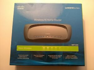 Linksys Cisco Wireless N Home Router Model WRT120N Complete In Original Box