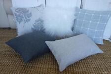 This Season's  Range Hamptons Grey Toned Mix & Match Cushion Covers 45cm/30x50cm