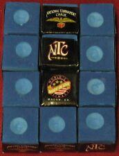 Cue Chalk ~ NTC ~ color: LIGHT BLUE ~ 12 pieces