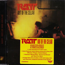 RATT - OUT OF THE CELLAR - REMASTERED CD - ROCK CANDY - CANDY212 - 5055300379924