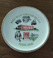 Magic Valley Christian College Albion, Idaho George W. Demoff Plate Bowl Ashtray