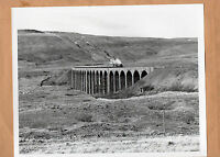 "Cumbrian mountain Express850 Lord Nelson ribbleshead Viaduct 1984   10""x8"" photo"