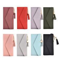 Women Lady Clutch Leather Wallet Long Card Holder Phone Case Purse Handbag 2020