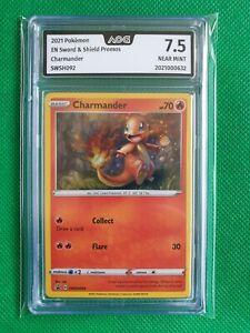 Charmander SWSH092 Promo Holo AOG 7.5 NM-M - BGS / PSA