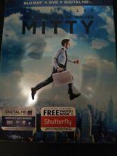 The Secret Life of Walter Mitty (Blu-ray/DVD, 2014, 2-Disc Set, no digital)
