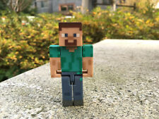 "Minecraft Overworld 3"" Action Figure Steve By Jazwares New Loose"