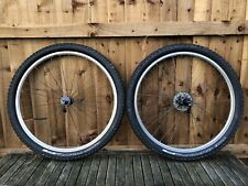 Specialized Retro MTB Hubs With Mavix 221 Rims Inc Cassette And Tyres