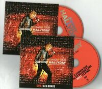 JOHNNY HALLYDAY - 2 x DVD LIVE 2006  ♦ duo LAURA PAUSINI inédit, Making Of... ♦