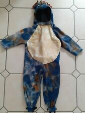 Toddler Triceratops Costume, Age 18-24 Months, 1-1.5 Years, Blue Dinosaur!
