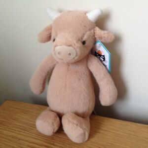 Jellycat Small Bashful Cow Super Soft Toy Comforter BNWT