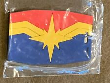 Loot Crate Exclusive Marvel Gear Goods Captain Marvel Luggage Tag NEW MIP