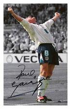 PAUL GASCOIGNE - ENGLAND EURO 96 AUTOGRAPHED SIGNED A4 PP POSTER PHOTO