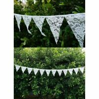 Wedding Hanging Decorations Lace Vintage Banner Bunting From Ceiling Reception