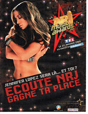 Publicité Advertising 028  2005  concert Music Awards Jennifer Lopez  radio RNJ