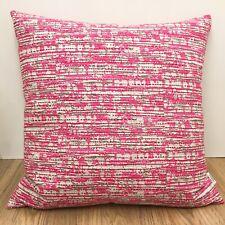 753. Handmade BLAKE RASPBERRY PINK 100% Cotton Cushion Cover Various sizes