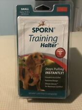 New listing New Sporn Training Dog Halter Small 9-12in Stops Pulling! Red And Black Harness