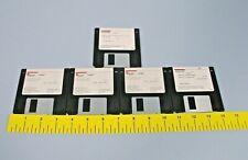 5 Beckman Coulter Lh500 Program Flex Disc Complete Set Qty 5