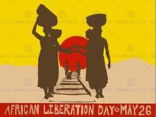 Día de la liberación de propaganda política africana movimiento de liberación EE. UU. impresión CC3966
