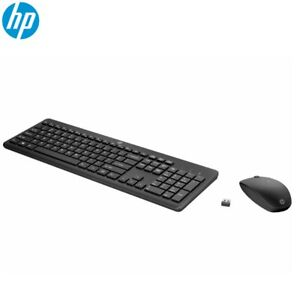 Wireless Mouse And Keyboard Combo HP 235 Comfortable And Long-Lasting Batteries