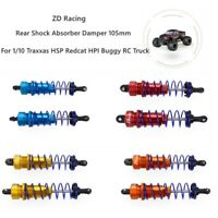 6x Alloy Servo Linkage Pull Rod For HSP HPI  Wltoys 12428 1//12 1//10 RC Buggy Car