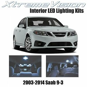 XtremeVision Interior LED for Saab 9-3 2003-2014 (7 PCS) Cool White