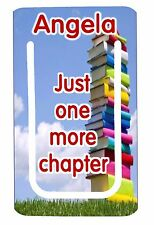 Personalised clip bookmark. Ideal gift for the avid reader. Free p+p