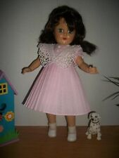 "This is a brand new pleated float dress for you Toni 14"" Dolls. This dress is m"
