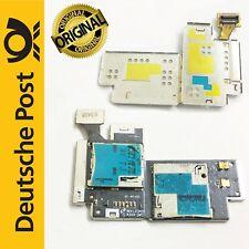 Samsung Galaxy Note 2 N7100 SIM SD Karten Leser Platine Slot Flex Card