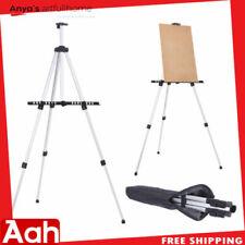 Aluminium Alloy Portable Folding Poster Stand Artist Studio Painting Easel & Bag