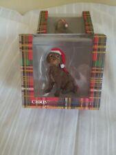 Sandicast Labradoodle Dog Christmas Ornament Nwt